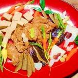 揚げ麩☆高野豆腐旨煮