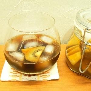 パイナップル&キウイのフルーツブランデー★フルブラ