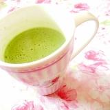 ❤ふわラテと青汁生姜と甘酒飴の吟醸ティ❤