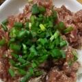 甘辛タレでネギトロ丼