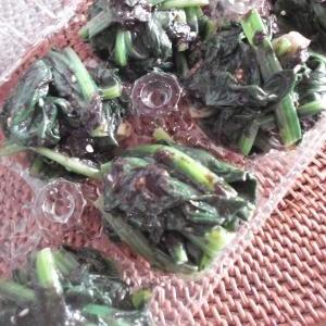 自家製冷凍食品☆ほうれん草の和えもの