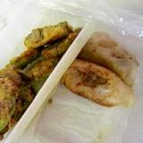 ∝お弁当揚げ餃子と島南瓜∝