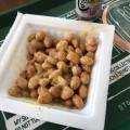 納豆に「ほんのりピンク色☆一味入りのお塩」
