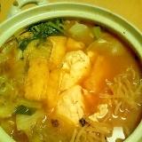 ★サバ缶使用★キムチ鍋★