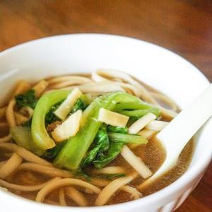 しゃぶしゃぶの〆に!台湾牛肉麺風うどん