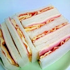 お手軽サンドイッチ
