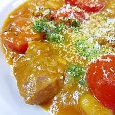 蒸し煮料理☆ 「牛肉とトマトのカレー煮」