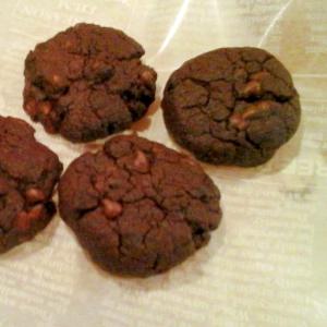 サラダ油でしっとりチョコクッキー