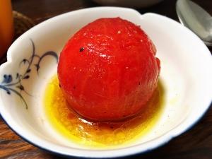 丸ごとトマトのマリネ