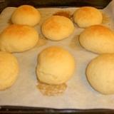 米粉半分パン