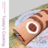 デコロール!鯉のぼり模様のロールケーキです。