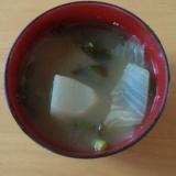 白菜とかぶのお味噌汁