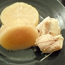 麺つゆブリ大根