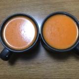 パプリカの冷製スープ