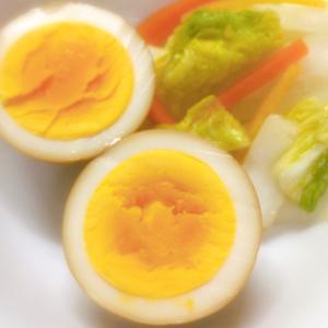 フルーツ酢でさっぱり♡酢醤油玉子