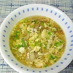 ☆舞茸玉子の中華スープ☆