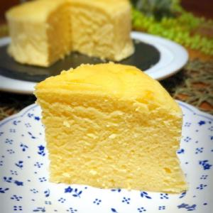 *ノンオイル*スフレチーズケーキ*
