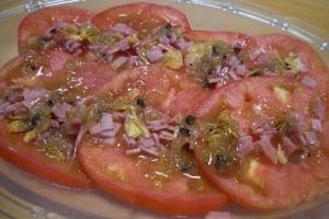 冷え冷え~~~! 「トマトのサラダ」  ♪♪