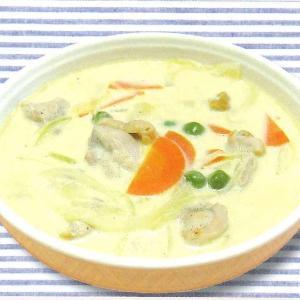 鶏肉と野菜のみそ風味ミルクスープ