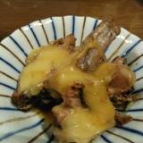 カツオのたたきのチーズポン酢焼き