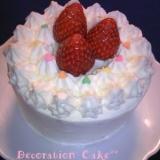 可愛い♡デコレーションケーキ♡12cm丸型