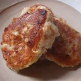マクロビ★豆腐とレンコンのハンバーグ