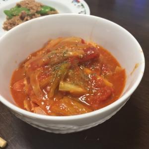 野菜たっぷりウインナートマト煮込み