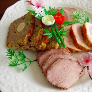 """お肉好きのお正月①♪我が家の""""ローストポーク"""""""