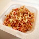 酢味噌/マヨ/金ごまで かにかまのひきわり納豆