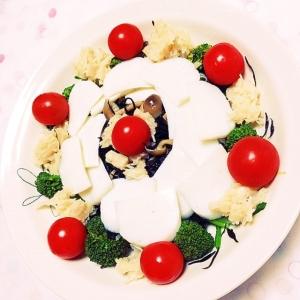 ヘルシー♡山盛り温冷サラダ