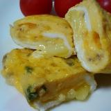 チーズ入り卵焼き☆