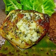 鯖のマヨ海苔焼き