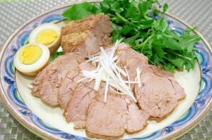 作り置きに便利♪煮豚チャーシュー&味付け卵