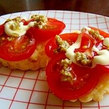 スコーンを楽しもう♪イタリアンなトマトオリーブ