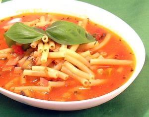 辛いが旨い!ホットトマトスープパスタ