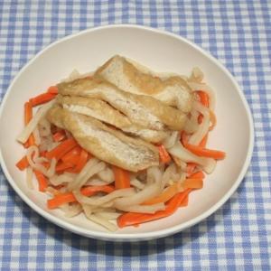 簡単定番☆乾燥野菜と乾燥油揚げで切り干し大根の煮物