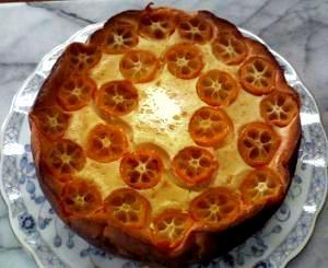 迎春用☆金柑チーズケーキ