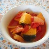 カボチャのトマト煮
