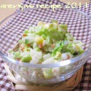 白菜のコールスロー風サラダ