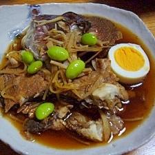 鯛のアラ&シャキシャキ生姜の煮付け(圧力鍋使用)