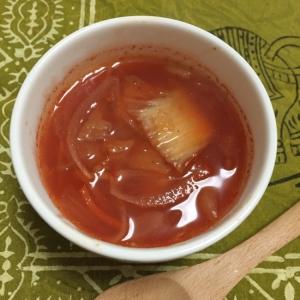 白菜キムチと玉ねぎのキムチスープ♪