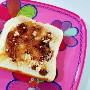 おやつトースト☆黒蜜きな粉トースト