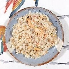 三十雑穀で作る、時鮭の炊き込みご飯