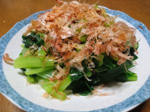 ポン酢で★小松菜のおひたし