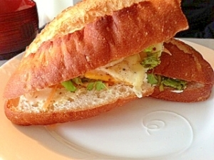 アジア風サンドイッチ