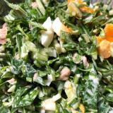 【低糖質】簡単子供も食べる!ザクザク水菜ツナサラダ