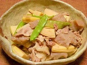圧力鍋で☆冷凍筍の煮物