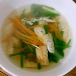 ニラの中華スープ