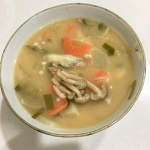 圧力鍋でぽかぽか鱈のアラのお味噌!