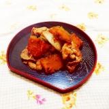 かぼちゃと豚小間の生姜焼き